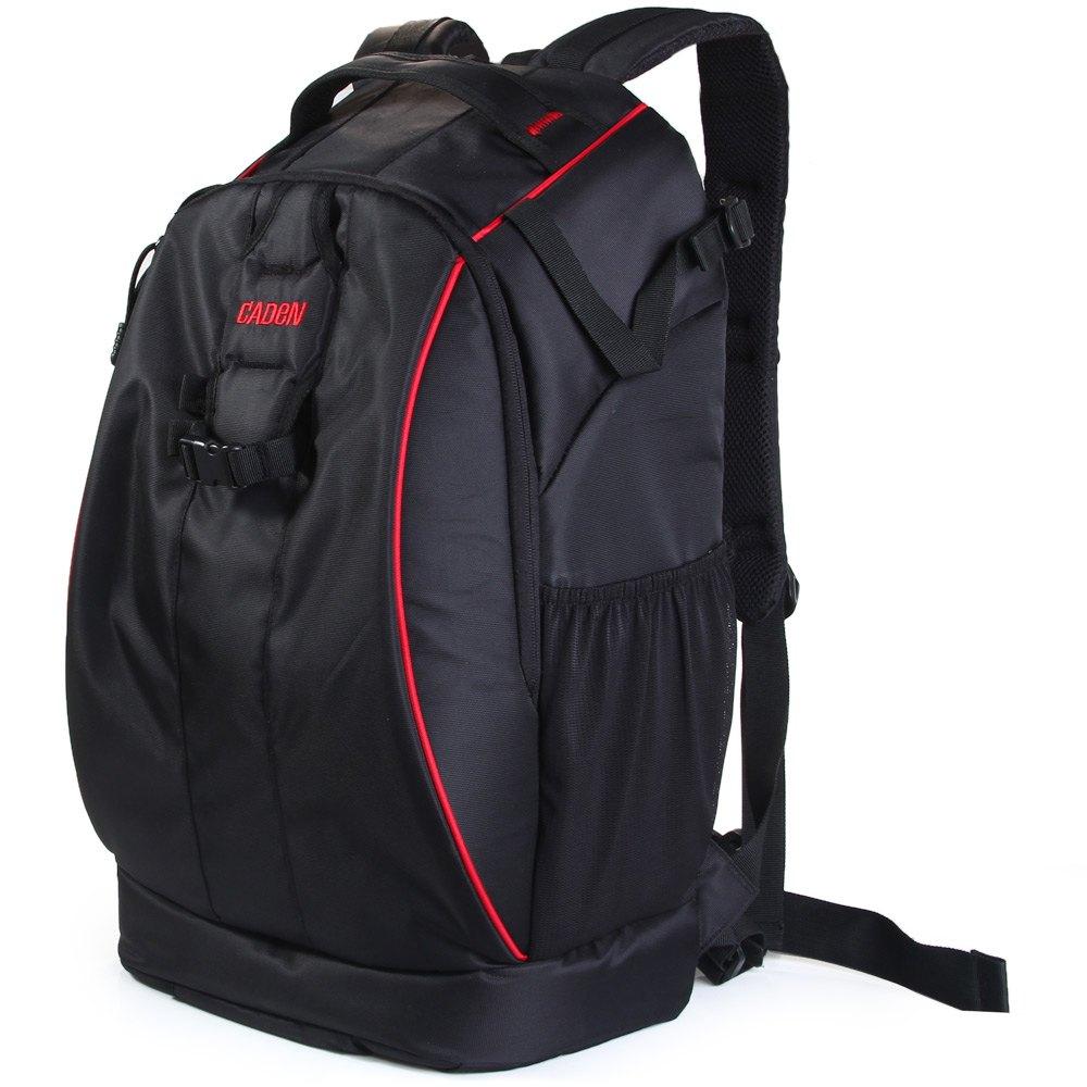 Caden K7 Camera Backpack Bag Case Canon Nikon Sony DSLR Traveler Lens Camcorder Tablet PC Bag