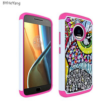 Buy phone case MOTO G5 Plus Case 5.2inch Hybrid Dual Layer Armor Defender Painted Bling diamond cover MOTO G5 Plus Shell for $4.46 in AliExpress store