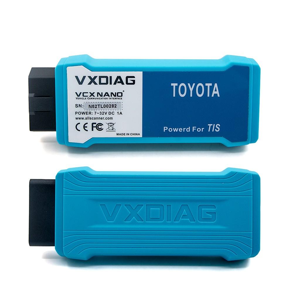 VXDIAG VCX NANO for TOYOTA TIS Techstream V10.10.018 Compatible with SAE J2534