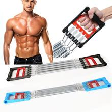men Springs Chest Expander 5 Hook Muscle Pulling Exerciser Spring Fitness Multi Function Springs Chest Expander