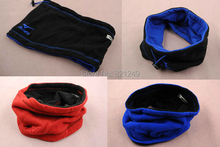 2014 Hot Sale Men and Women Double-deck Warm Fleece Collar Scarf Double Windproof Free Shipping(China (Mainland))