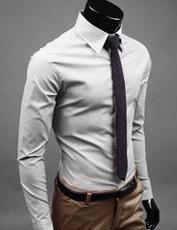 2015 New 17Color M 5XL Fashion Men Shirt Long Sleeve Mens Shirts Camisa Slim Fit Masculina