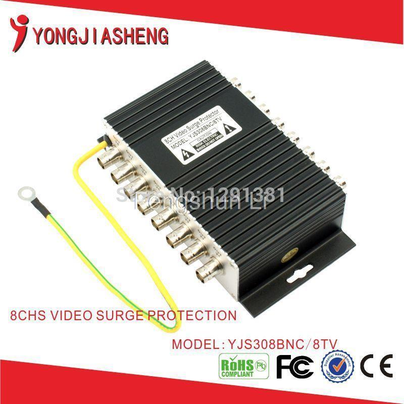 8ch BNC video Surge Protector Video Lightning Arrester(China (Mainland))