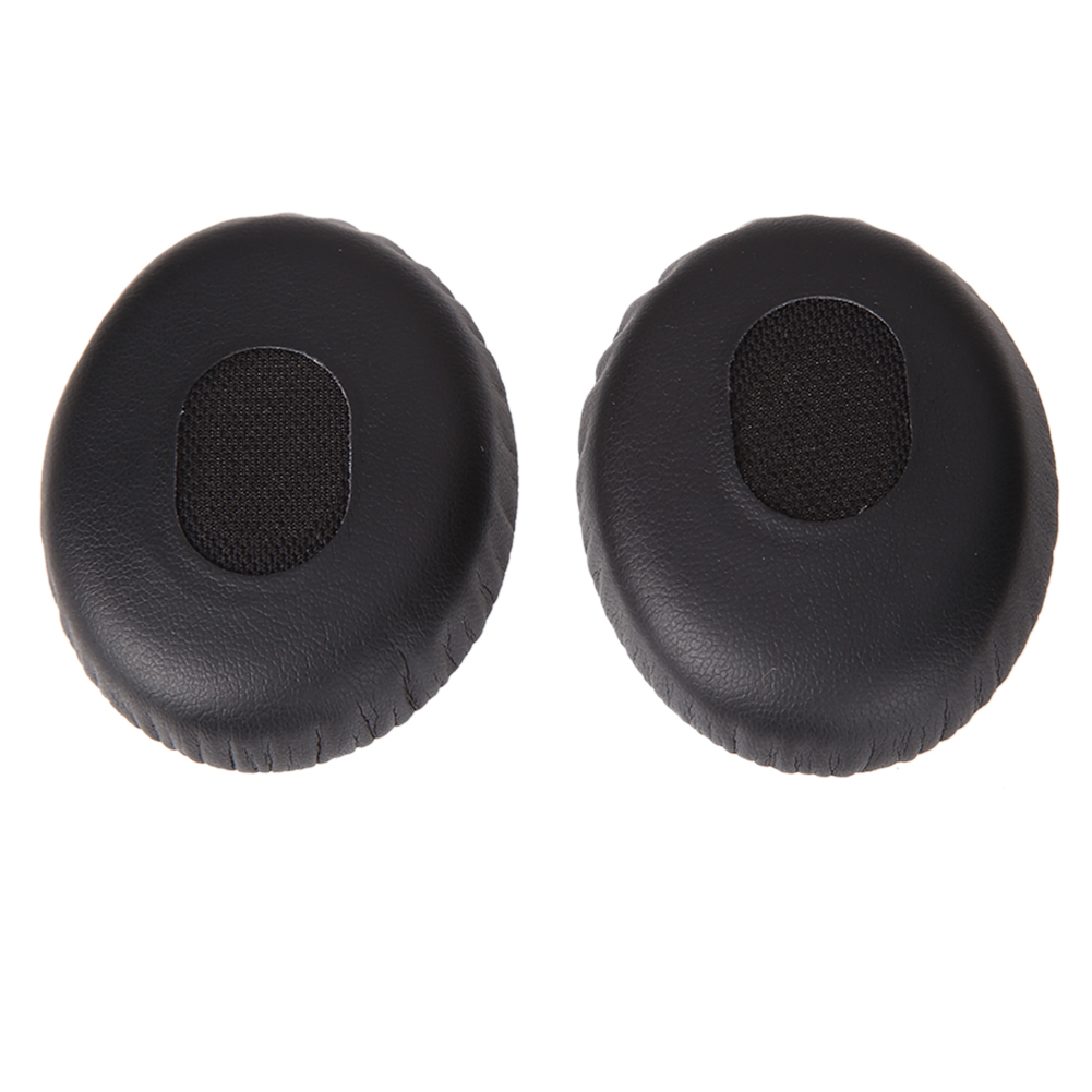 image for 1 Pair Replacement Ear Pads Foam Cushion Earphone Earpads On-Ear Black