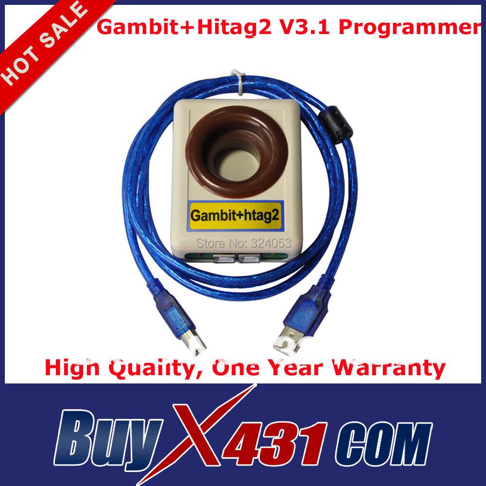 Top Rate - 2in 1 Gambit + Hitag2 V3.1 Key Maker Universal Auto Transponder Key Programmer + HKP Free Shipping(China (Mainland))