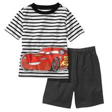 1 set retail 2015 new kids children s clothing summer clothes suit Boys girls fashion sports