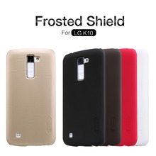 Buy Case LG K10 LTE 4G K430 K430ds K430dsf K430tr K430y K420n K410 Original Nillkin Frosted Shield Hard Back Cover + Film for $7.19 in AliExpress store