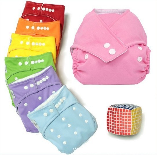 Hot Beautiful Reusable Washable Baby Cloth Nappies 1 pack Nappy Diapers babyland diaper Free Shipping(China (Mainland))