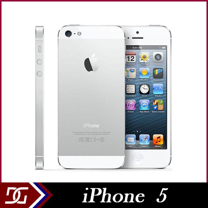 "Factory Unlocked Mobile Phone Original Apple iPhone 5 8.0MP Camera Dual Core 3G WCDMA GSM 4""IPS 1G RAM 16GB/32GB/64GB ROM WIFI(China (Mainland))"
