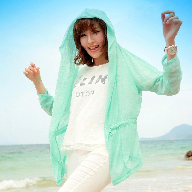 2015 sun protection clothing female long sleeve anti uv ...