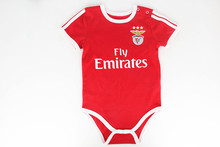 2016 BENFICA Baby Soccer rompers BENFICA 2016 kids Onesie home red soccer jerseys YOUTH football uniform shirt camiseta BCK144(China (Mainland))