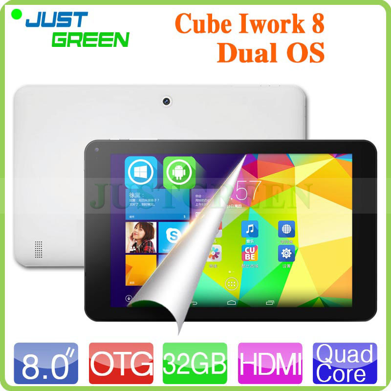 2015 Original Cube U80GT Dual OS Windows 8.1 & Android 4.4 Z3735F Quad Core 2GB RAM 32GB Tablet PC 8'' IPS 1280*800 Camera HDMI(China (Mainland))