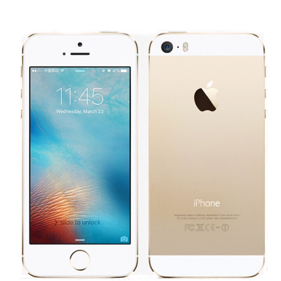 """100% Original Apple iPhone 5S Facotry Unlocked Mobile Phone Dual-core 4.0"""" 8MP WIFI GPS 5S Cell Phone(China (Mainland))"""