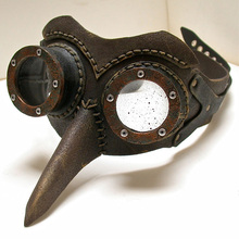Vintage Dr. Beulenpest Steampunk Plague Doctor Mask