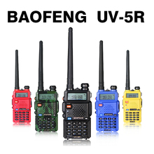 BaoFeng Portable UV-5R UV 5R UV5R 128CH Dual Band VHF/UHF 136-174/400-520 Two Way Radio Radio Walkie Talkie+SMA-Female Antenna