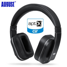 Buy August EP750 Active Noise Cancelling Bluetooth Wireless Headphones Reduce Air Travel Engine Noise ANC Wireless APTX Headset for $107.28 in AliExpress store