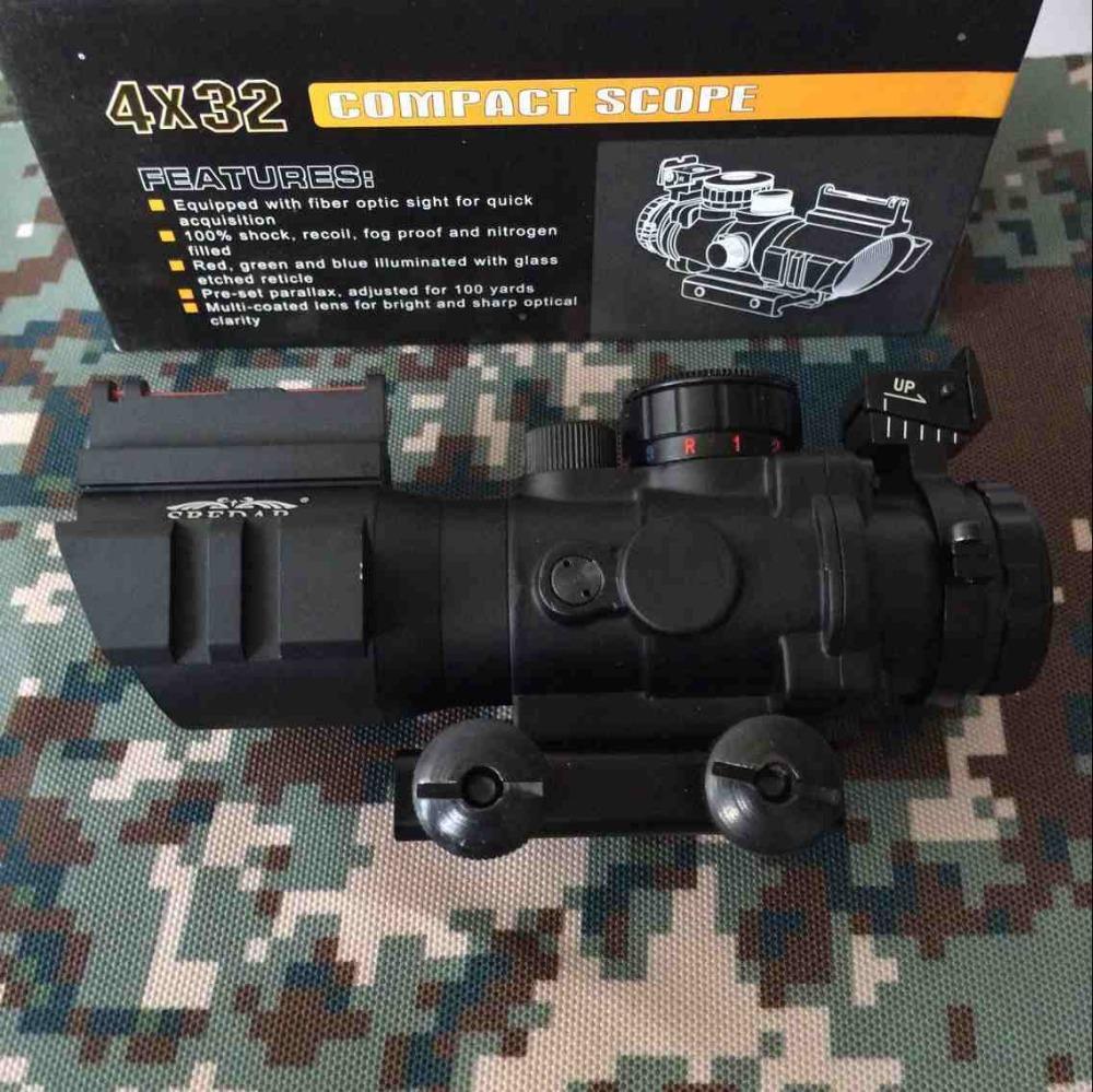 Optics Goliath 4x32 Tactical Prism Compact Rifles...