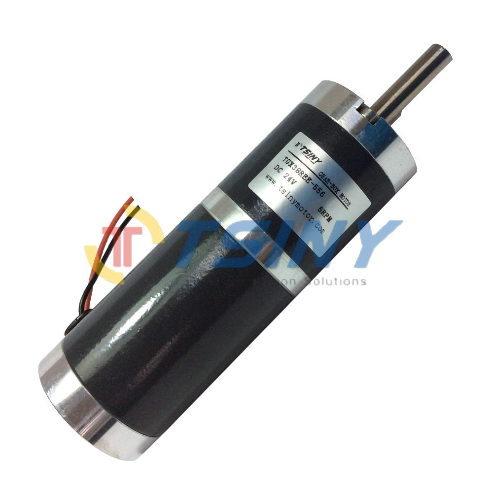 Buy Tgx38 Dc Gear Motor 24v 5rpm Dc Motor Of Robot Motor With Metal Gear Box