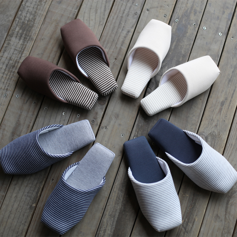Cotton-padded slippers home slippers indoor japanese style wood floor slippers lovers soft outsole slippers(China (Mainland))