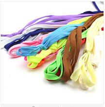 2014 HOT SALE 1Pair Shoelace Athletic Sport Sneakers Flat Shoelaces Bootlaces Shoe laces Strings For Multi Color(China (Mainland))