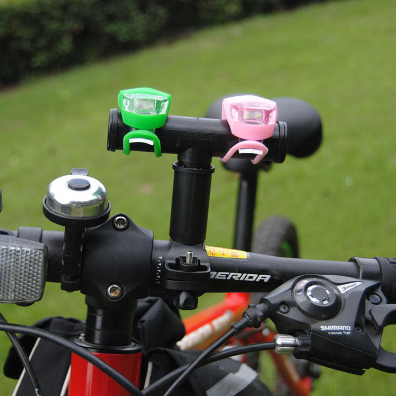Mountain Bike Handlebar Extender Expander Bicycle Multicolor Mount Headlight Flashlig