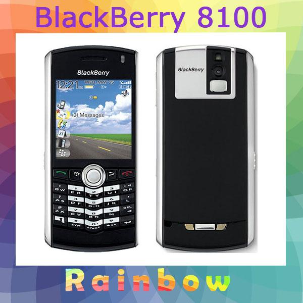 blackberry PEARL ORIGINAL Blackberry 8100 MOBILE PHONE GSM QUAD BAND FREE SHIPPING Refurbished(China (Mainland))