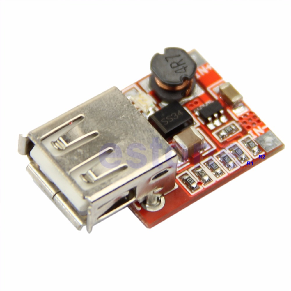 New DC DC Converter Step Up Boost Module 3V To 5V 1A USB Charger For M