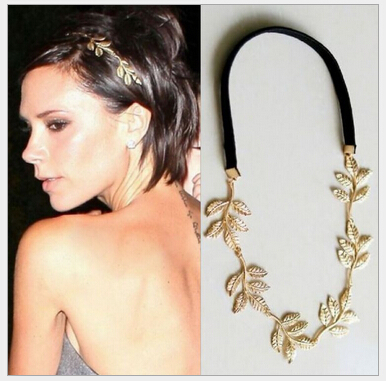 High quality Hairwear Hot The olive branch leaves decorative hair band 70pcs(China (Mainland))