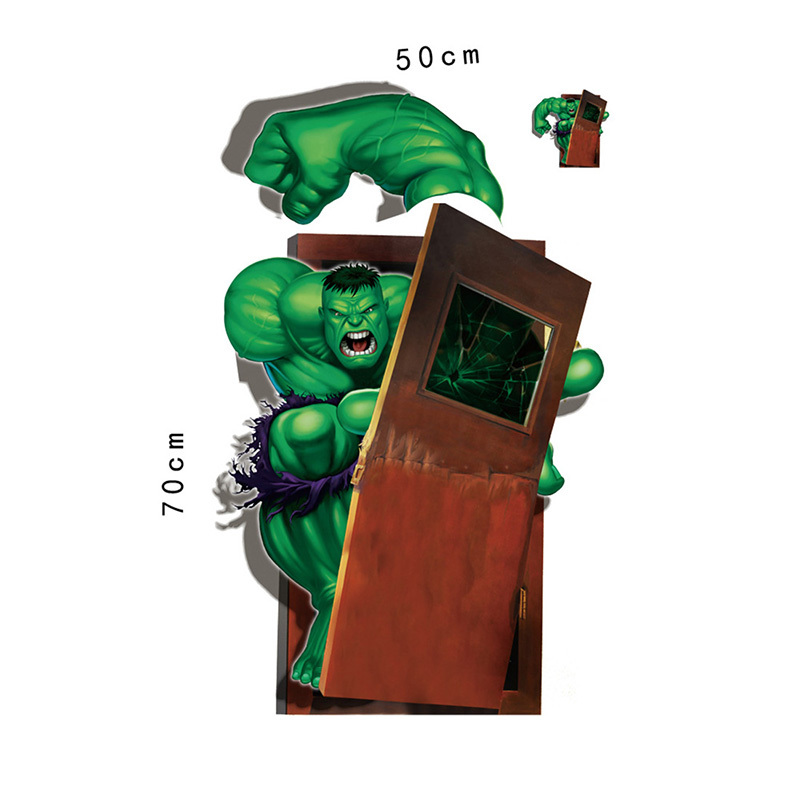 3D Marvel39s The Hulk Avengers Stickers for