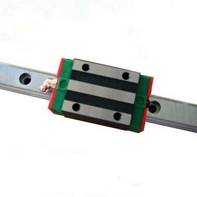 HGR15 L250mm rail with 1pcs HGH15 CA Narrow Type carriage HIWIN Linear Guide<br>