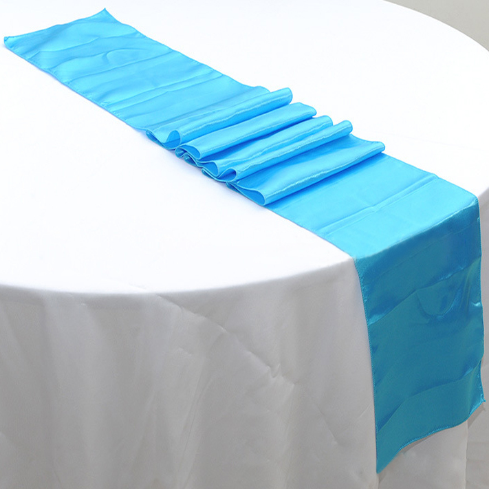turquoise table runners promotion shop for promotional turquoise table runners on. Black Bedroom Furniture Sets. Home Design Ideas