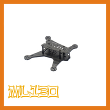 the newest World's smallest DIY Micro mini drone cross racing quadcopter ML-130 pure carbon fiber frame unassembled