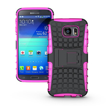 For Samsung Galaxy Note 2 II N7100 Slim Tough Armor Defender Case Hybrid TPU + PU Shockproof Shell With Stand Holder Hard Cover(China (Mainland))