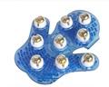 Handheld 360 Degree Rotation fully Body Massage Brush 9 Piece Steel Ball Roller Massager Slimming Palm