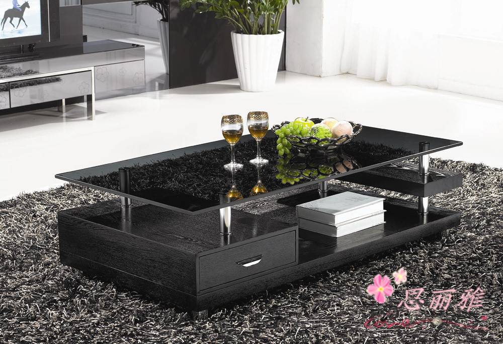 wooden coffee table glass tea table wooden end table