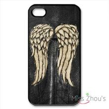 For iphone 4/4s 5/5s 5c SE 6/6s plus ipod touch 4/5/6 back skins mobile cellphone cases cover Walking Dead Daryl Dixon wing