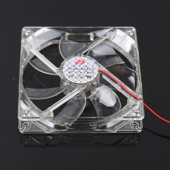 5X 120mm Fans 4 LED Blue for Computer PC Case Cooling  #2135