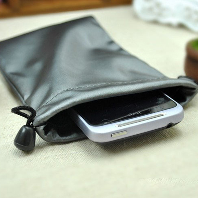 Universal portable protective dust proof phone bag Power Bank mobile hard disk drive bag For 4s 5s 6 6splus 5.5inch phone xiaomi(China (Mainland))