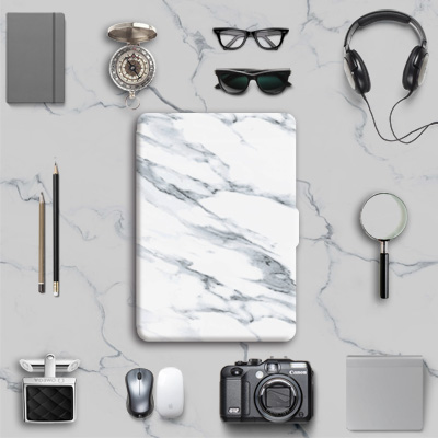 Slim Kindle Cover Case Protective Shell Paperwhite Skin Marble Pattern for Kindle Paperwhite 1/2/3(China (Mainland))