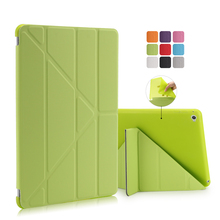 For Apple Ipad Air 2 Case Pu+Tpu Cover Ultra Thin Smart Wake Up Sleep 9.7 inch For Ipad 6 Soft Full Protect Stand Case(China (Mainland))