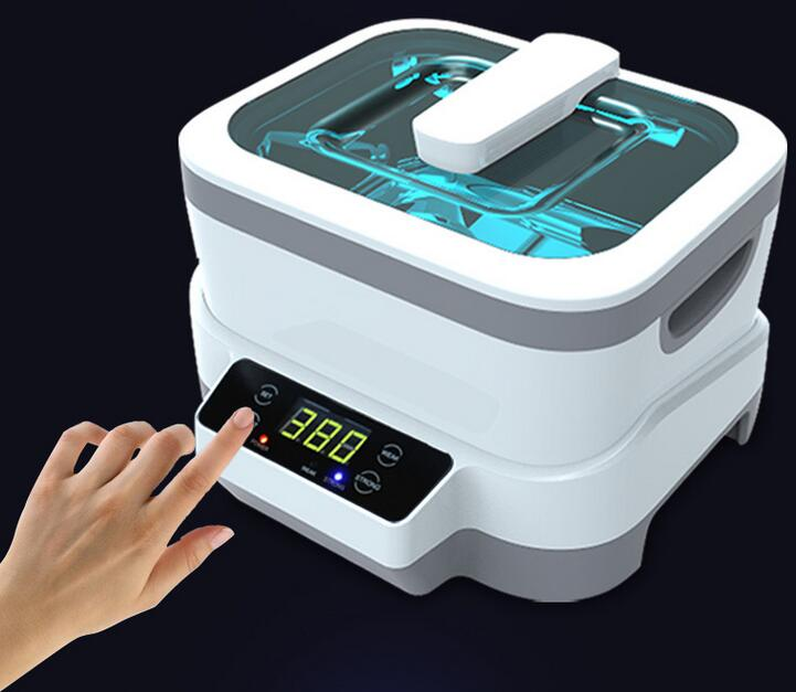 Fission Machine Dual Touch Screen Sterilizer Pot Salon Nail Tattoo Clean Watches,Gem Ultrasonic Cleaner autoclave Tool JP-1200(China (Mainland))