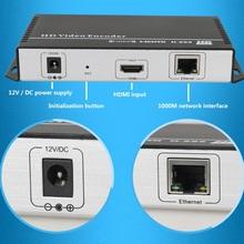 H.265/H.264 IPTV Encoder Codificador de Vídeo HDMI de apoyo de difusión IPTV RTMP RTSP ONVIF, trabajar con wowza, xtream códigos, youtube