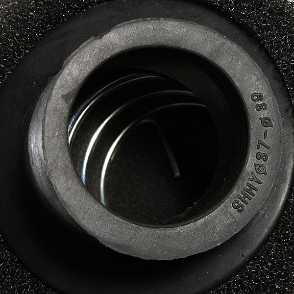 38 мм пит байк 45 град. двухместный пена угловой воздушный фильтр 110cc 125cc CRF черный