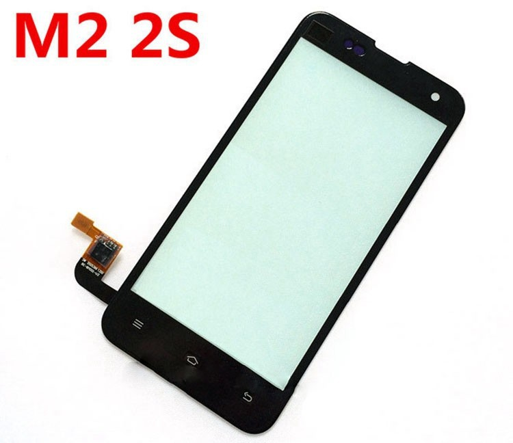 Original Touch Screen For Xiaomi M2 Mi2 Mi2s Front Touch Glass Digitizer Display Replacement Phone Screen Repair Parts Black