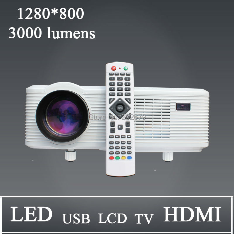 Good Chance!!! 22 OSD Language Stereo Daul Channel Speaker 2000:1 Contrast Ratio Native 720p Low Noise Lcd Projectors<br><br>Aliexpress
