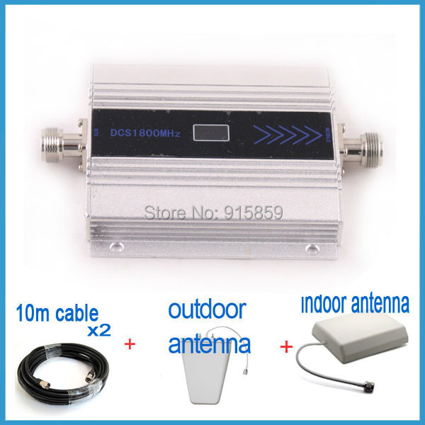 Direct Marketing 1sets Mobile phone Signal Booster Repeater Amplifier With Display LCD Free Drop Shipping(China (Mainland))