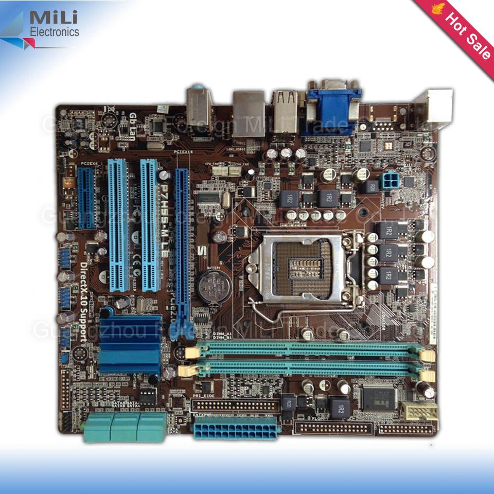 2015 New stock 100% Oirginal for Asus P7H55-M LE H55 Desktop motherborad LGA 1156 DDR3 8G uATX<br><br>Aliexpress