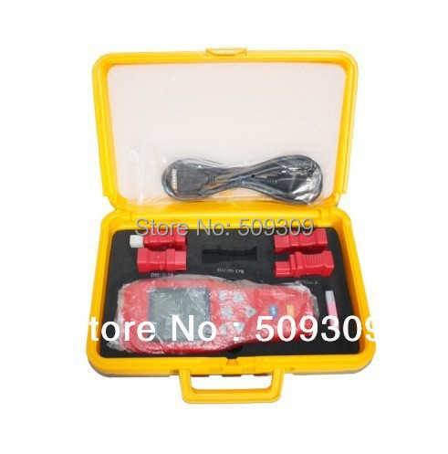Wholesale handheld device ORIGINAL X-100+ Auto Key Programmer One Year Warranty free shipping(China (Mainland))