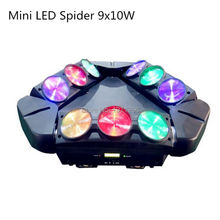 Buy MINI LED 9x10W Led Spider Light RGBW 9/43CH DMX Stage Lights Dj Led Spider Moving Head Beam Light for $197.00 in AliExpress store