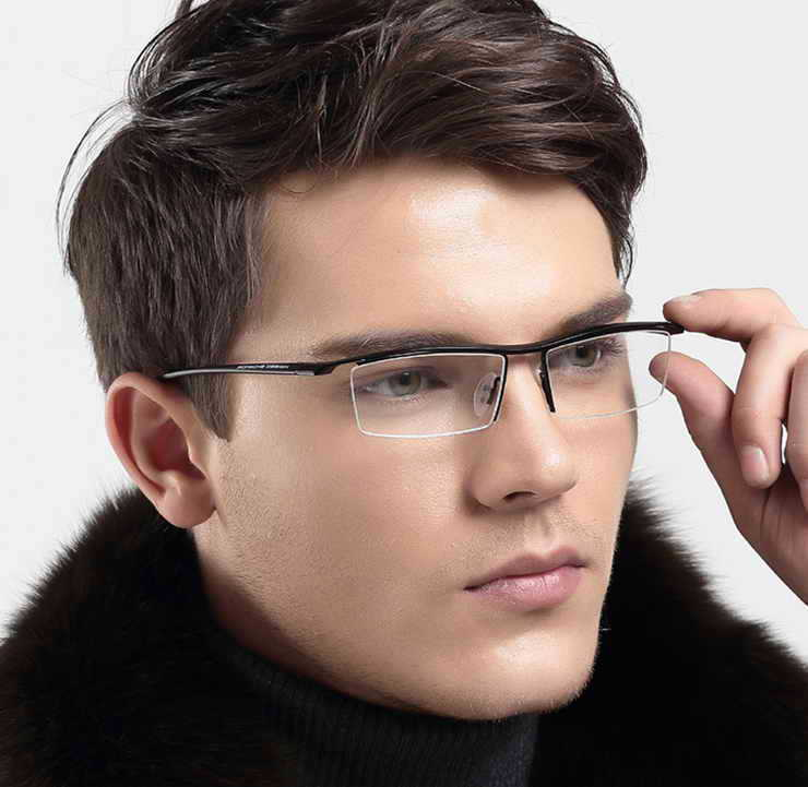 mens eyeglass style 2015 rimless Global Business Forum ...